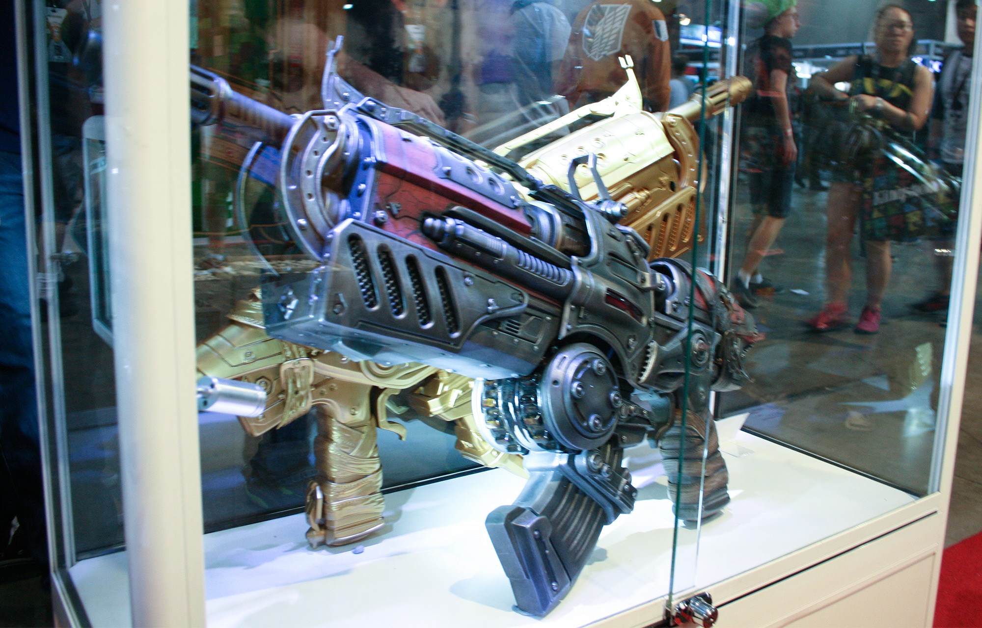 PAX Aus - Melbourne 2014 - King's Comics - guns