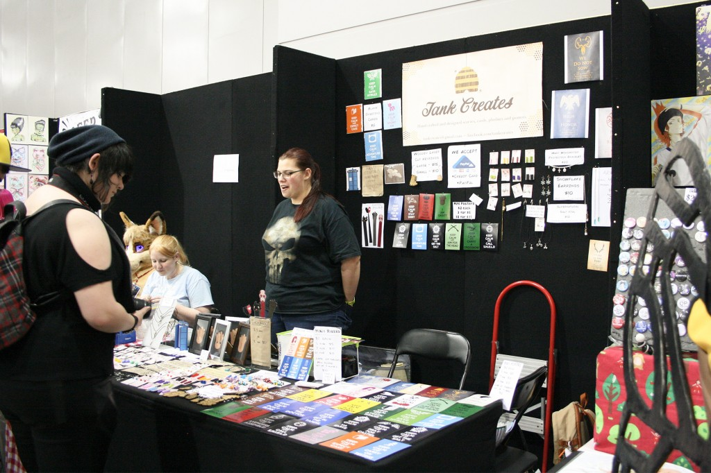 Oz Comic Con Brisbane 2014 - artists and crafters - Tank Creates