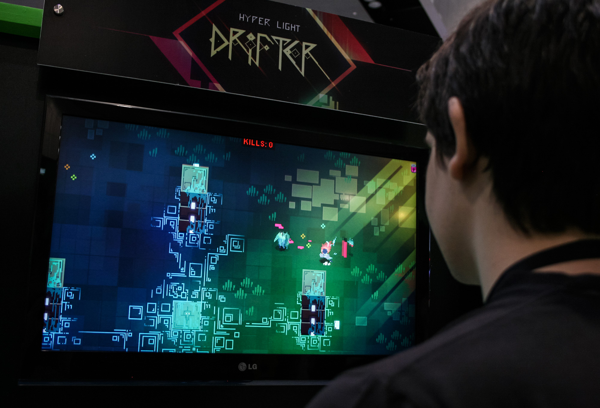 PAX Aus - Melbourne 2014 - Hyper Light Drifter