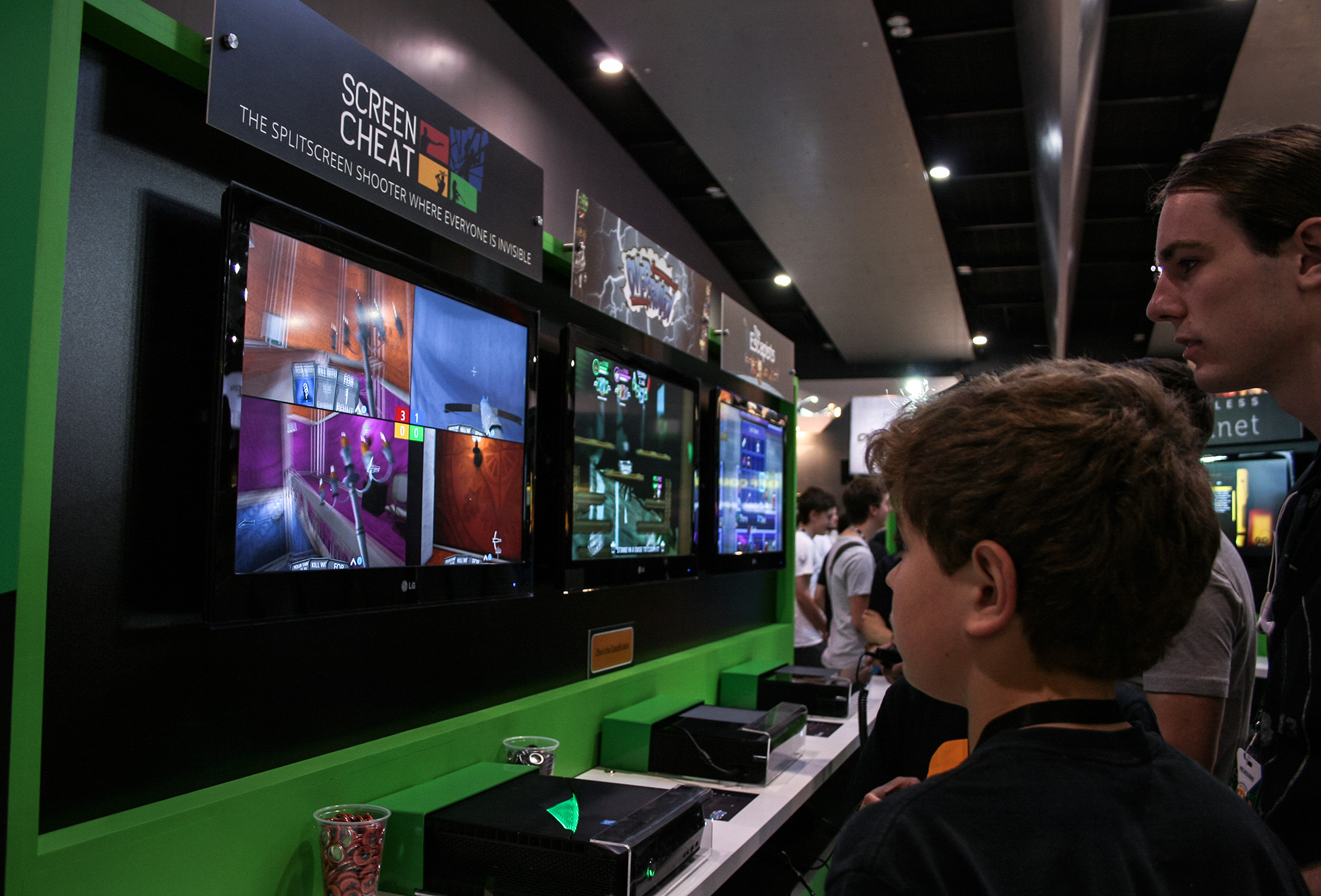 PAX Aus - Melbourne 2014 -  Screencheat