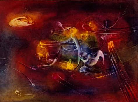 Judit Reigl - Flambeau de noces chimiques, 1954