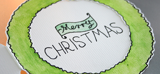 Handmade Christmas Reef Cards and Gift Tags – 2012