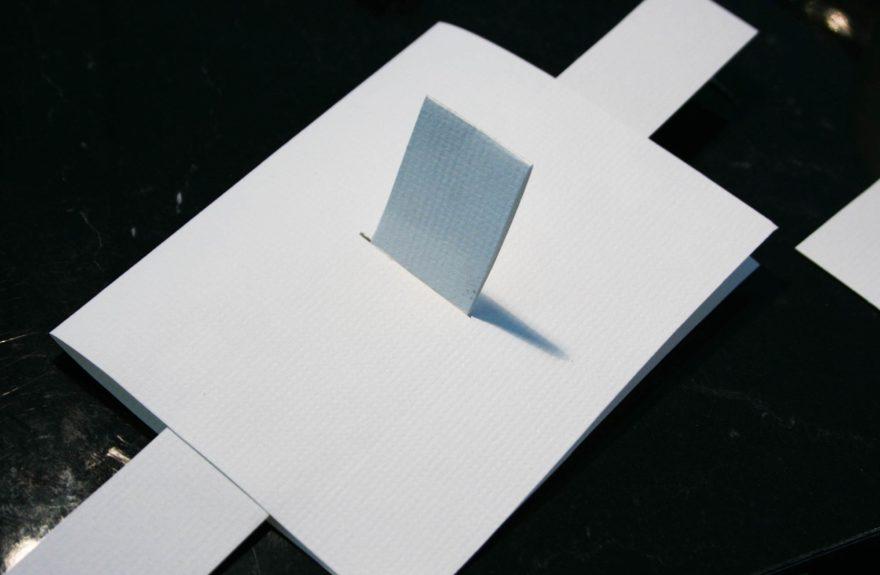December birthday card - pull tab birthday card front side