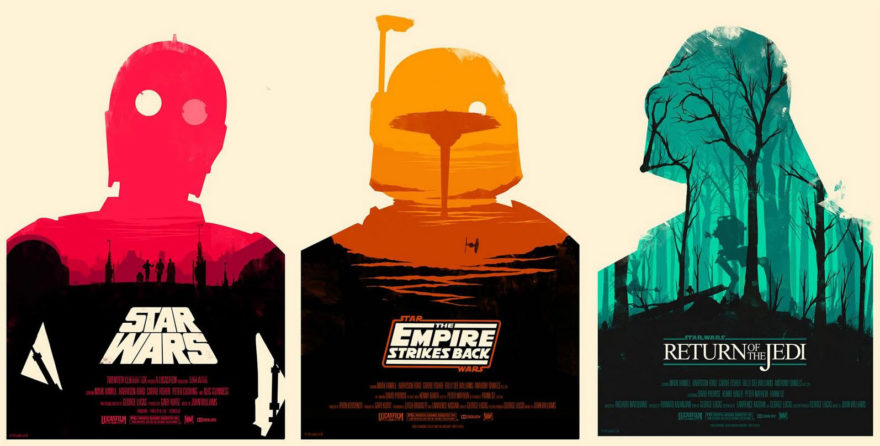 Designer Love - Star Wars Posters by Olly Moss