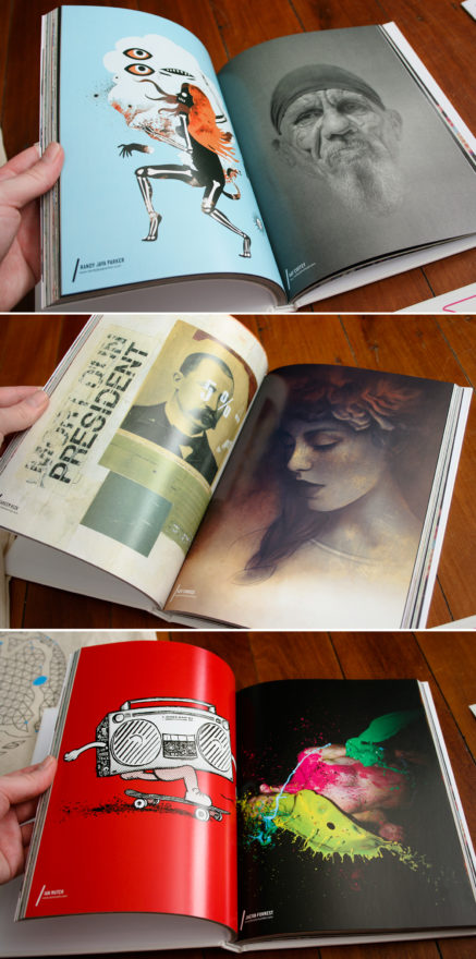 Semi-Permanent - Brisbane 2013 - A few pages from inside the SP book