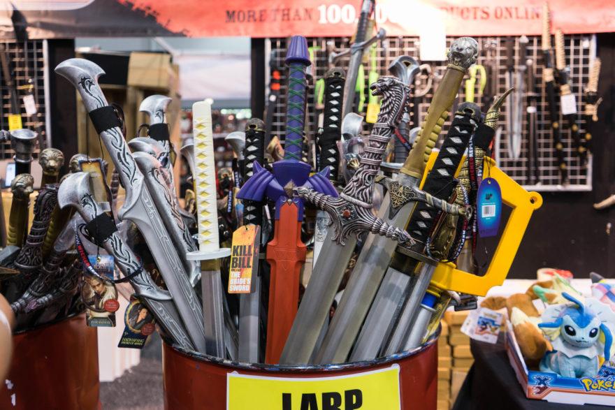 Supanova - Brisbane 2017 - Fake swords