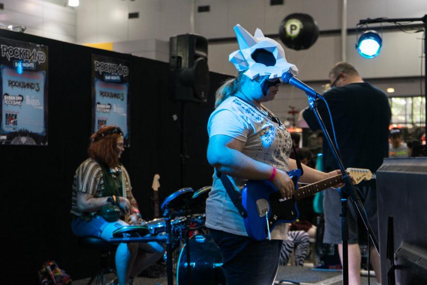 Supanova - Brisbane 2017 - Guitar Hero Stage