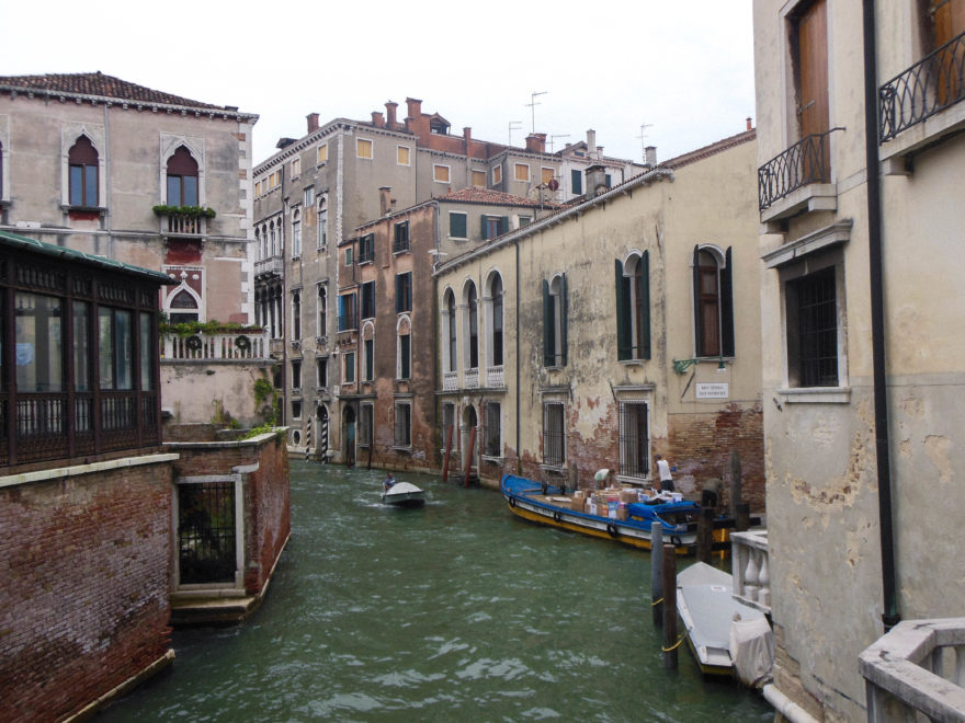 Venice - canals in the city
