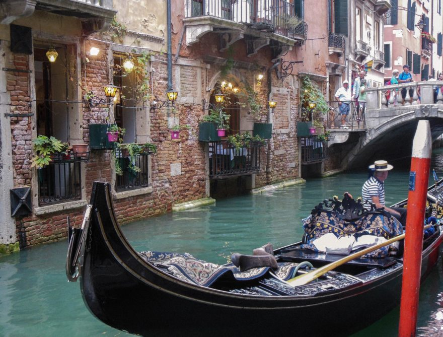 Venice - gondala in the canals