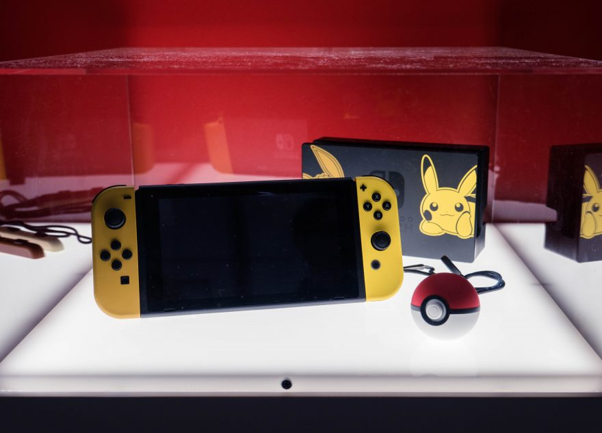 PAX Aus 2018 - Pikachu skin for Nintendo switch