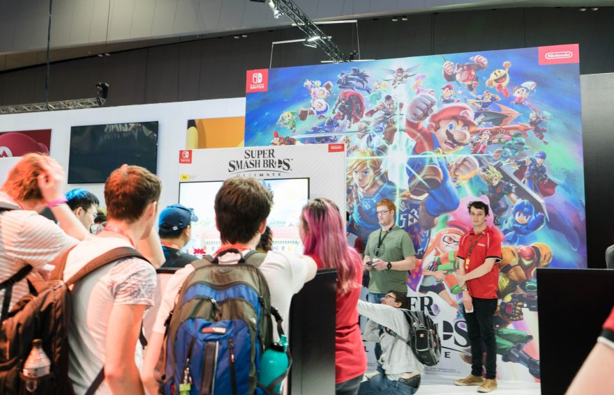 PAX Aus 2018 - Super Smash Bros Ultimate