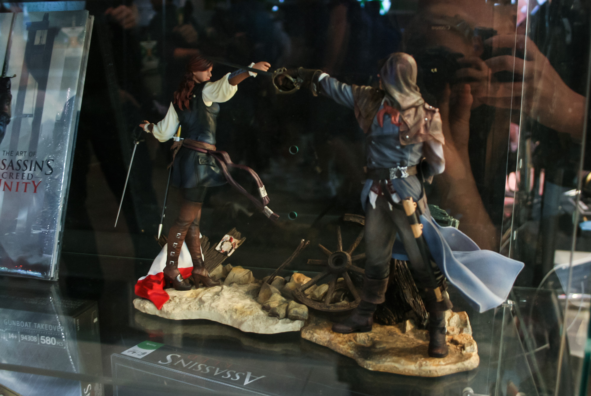 PAX Aus - Melbourne 2014 - Assassin's Creed figures