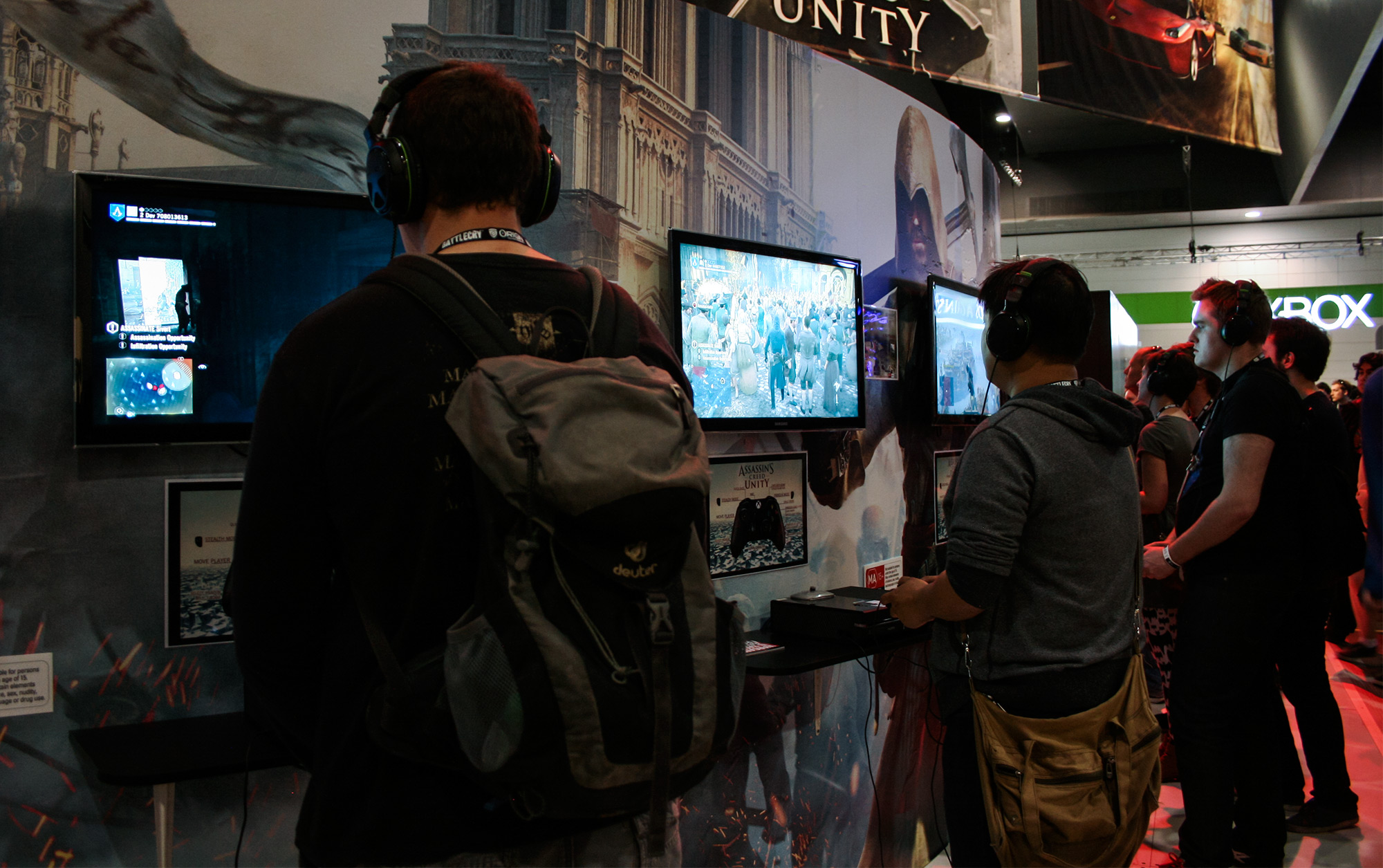 PAX Aus - Melbourne 2014 - Assassin's Creed Unity