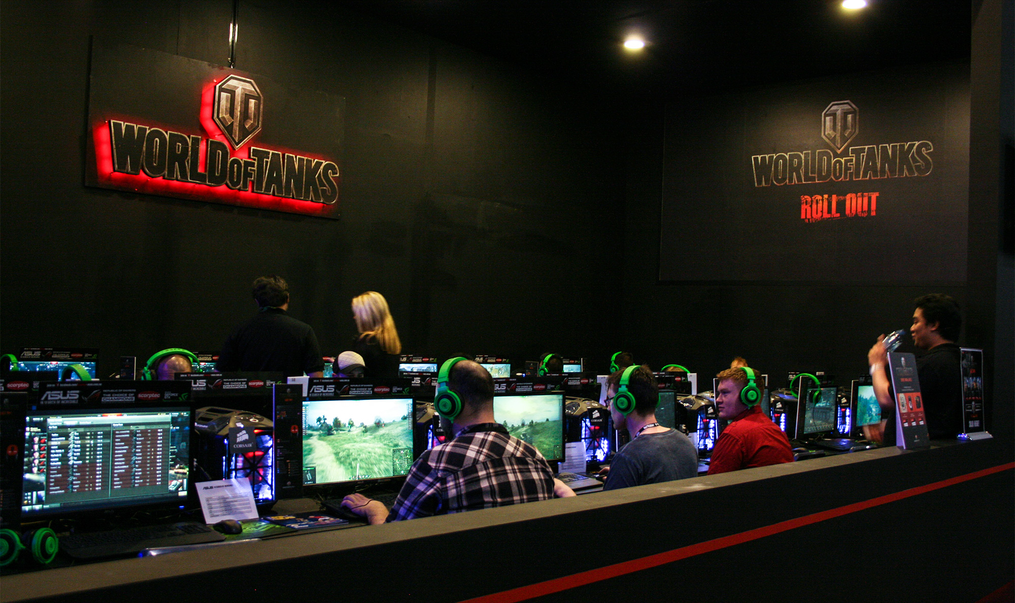 PAX Aus - Melbourne 2014 - World of Tanks