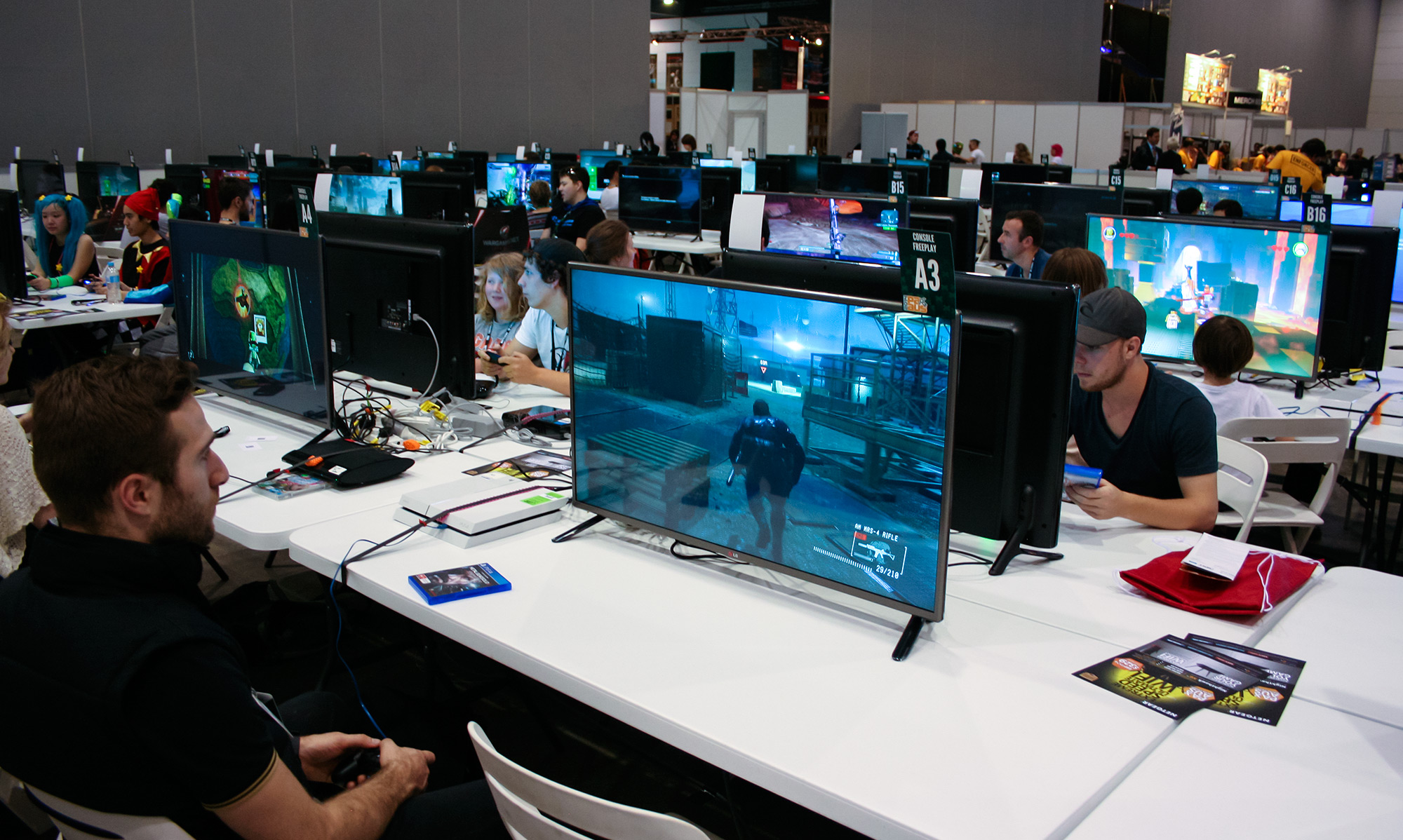 PAX Aus - Melbourne 2014 - Console Freeplay