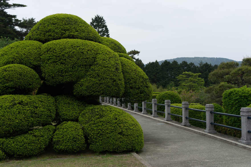 Detached Palace gardens - Hakone, Japan