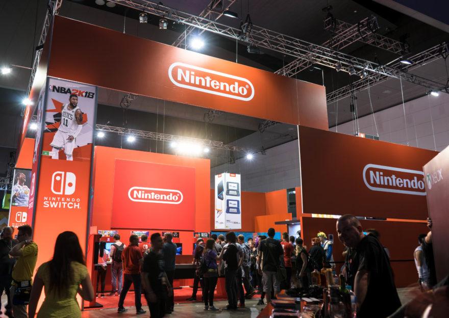 PAX Aus - Melbourne 2017 - Nintendo Booth