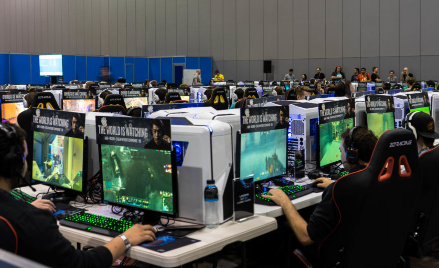 PAX Aus - Melbourne 2017 - PC Freeplay Area