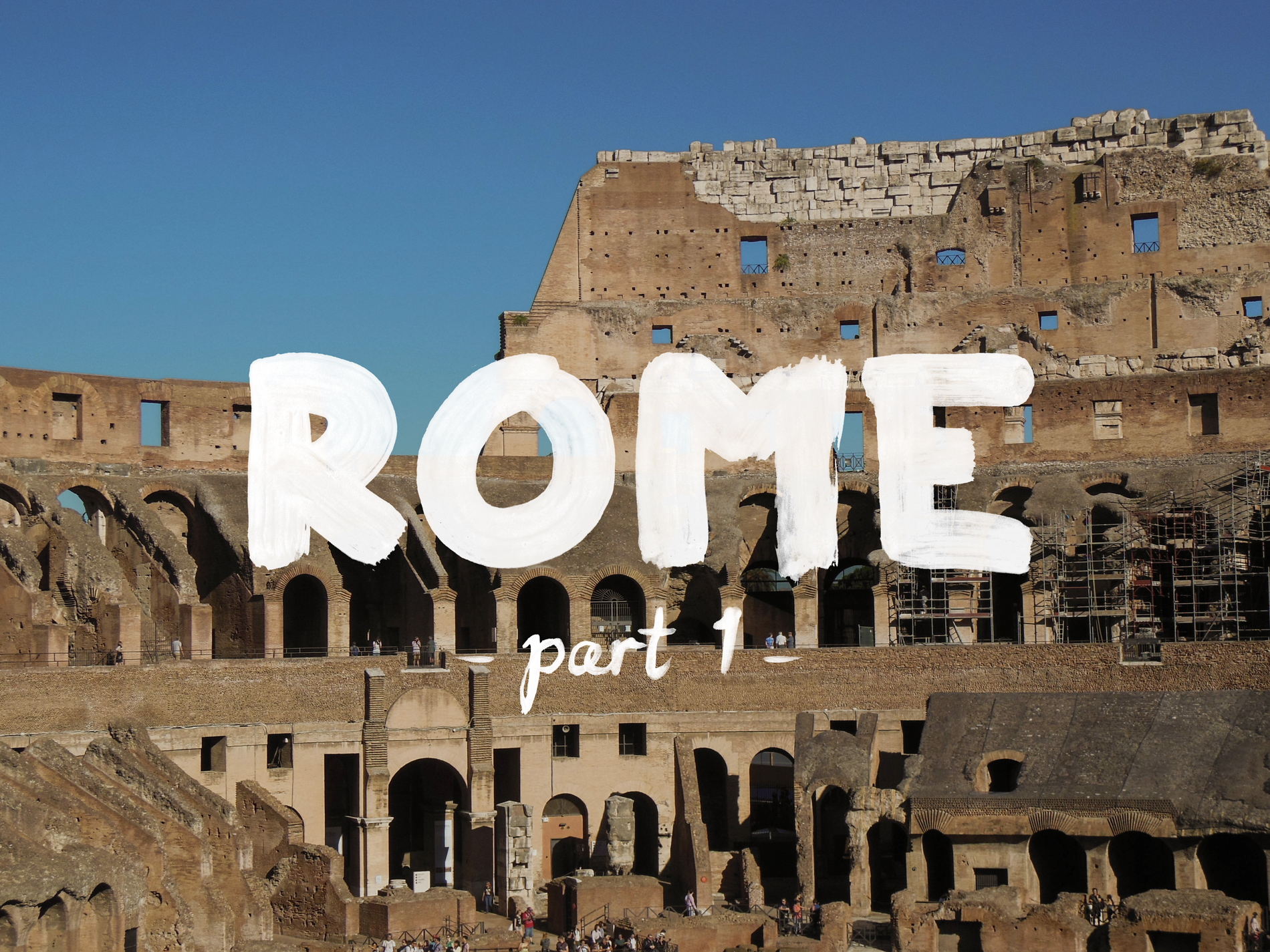 Italy 2016 - Discovering Rome