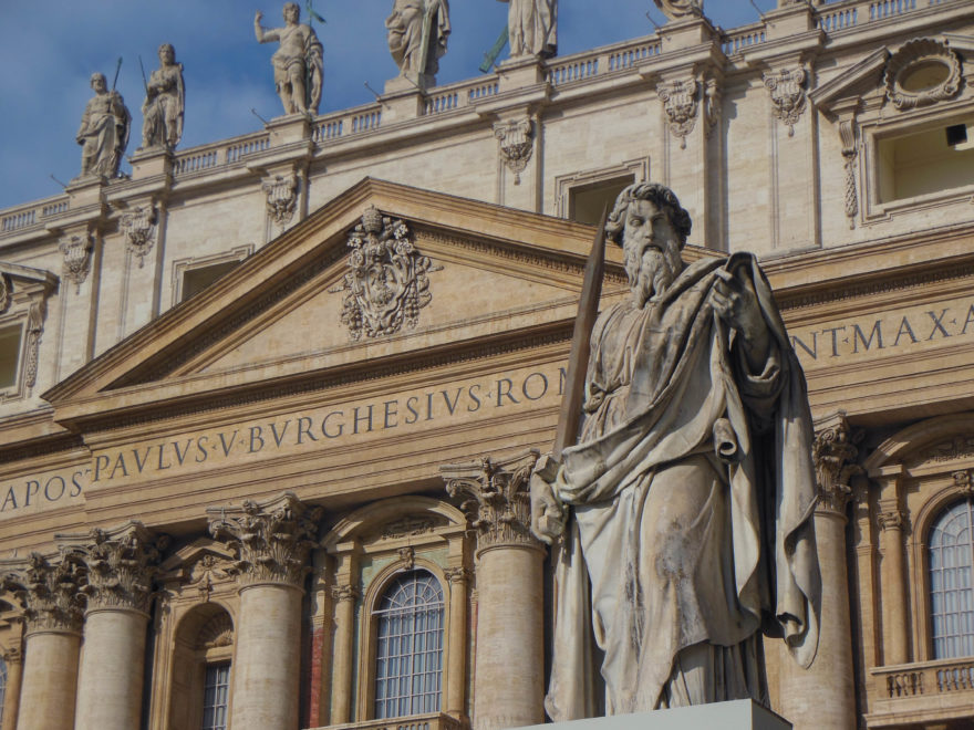 Italy - St Peters in Vatican City