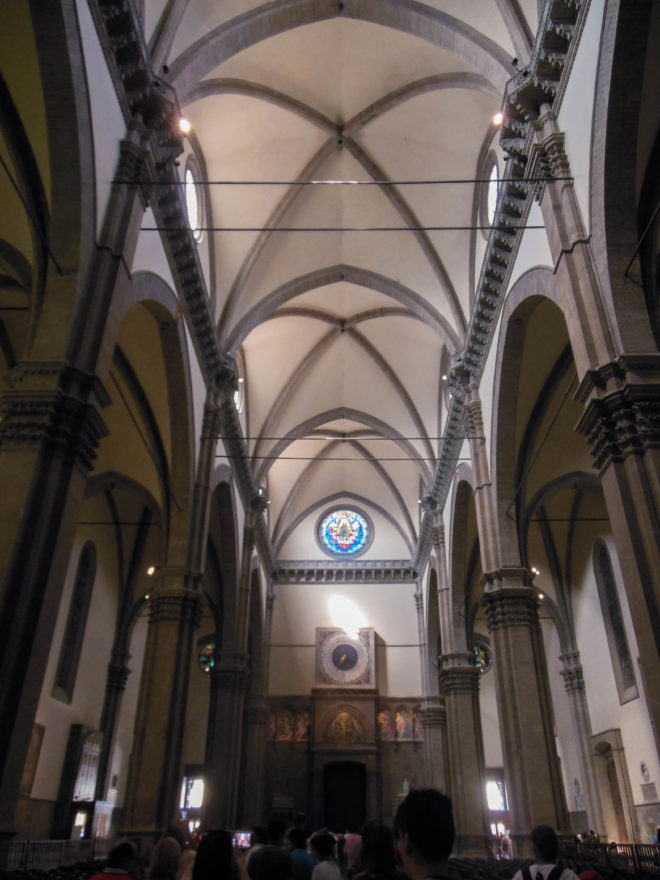 Italy 2016 - Florence - Inside the Florence Duomo Dome