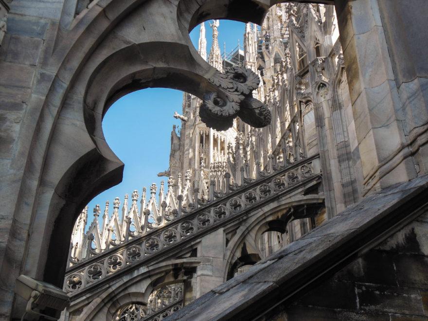 Italy 2016 - Milan Duomo Rooftop detail