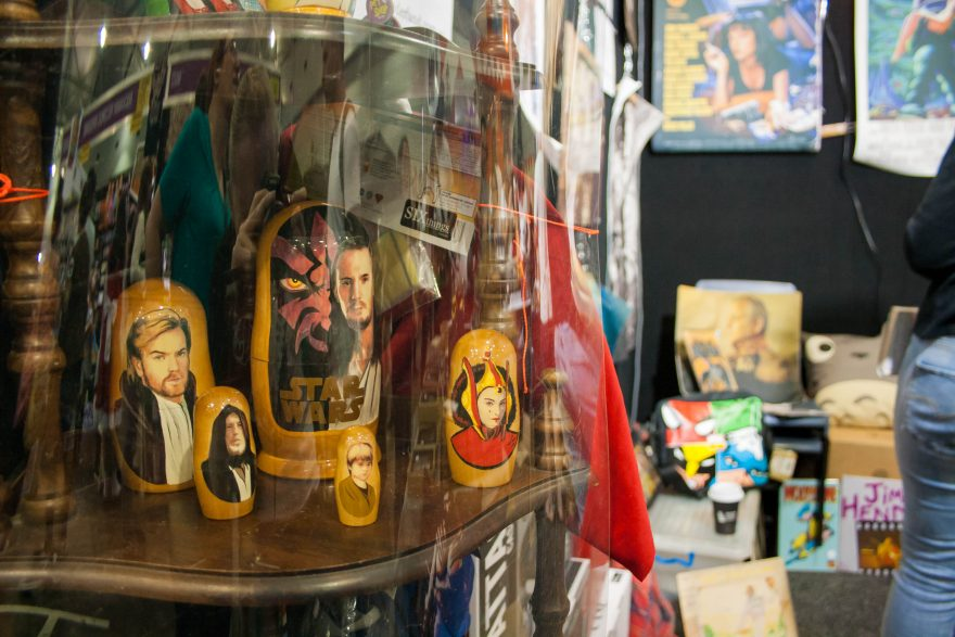 Oz Comic Con Brisbane 2015 - Star Wars Russian dolls