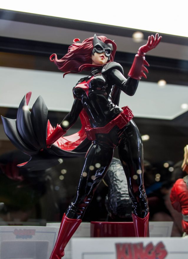 Oz Comic Con Brisbane 2015 - Batwoman Figure