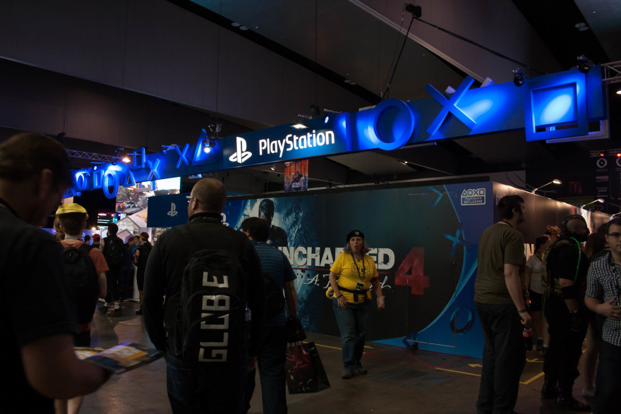 PAX Aus 2015 - Playstation booth