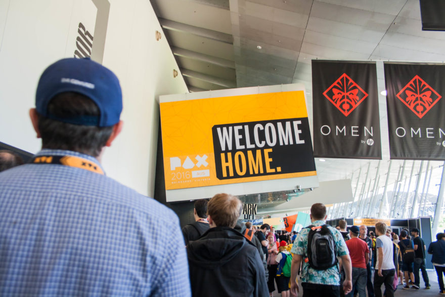 PAX Aus 2016 - Welcome into the main exhibition hall